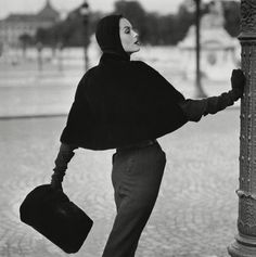 Henry Clarke was the great fashion photographer of Haute Couture in the 1950's and 1960's.