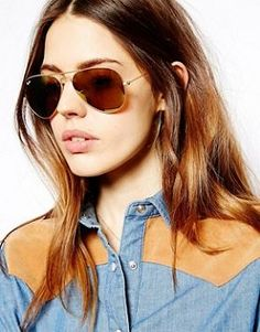 6779ea6533 Monique Lhuilliers Luxurious 2014 Collection  weddingdress Gold Aviator  Sunglasses