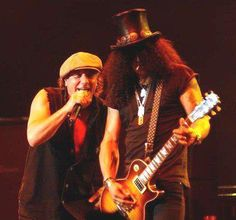 now that's a pairing > Slash with AC/DC