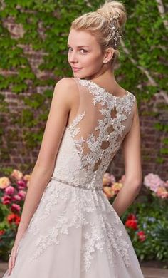 Maggie Sottero Olivia wedding dress currently for sale at 10% off retail.