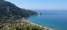 Agios Gordios Corfu island Agios Gordios, Corfu Island, Places Ive Been, The Good Place, Greece, Places To Visit, Water, Amazing Places, Travel