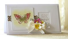 Handmade by Mihaela: Butterfly card