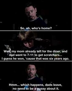 The Mechanic, Tony Stark. Iron Man 3