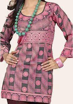 Alsharifa.com - The MOD Hip-Length Indian Kurti Tunic, $9.95 (http://shop.alsharifa.com/the-mod-hip-length-indian-kurti-tunic/)