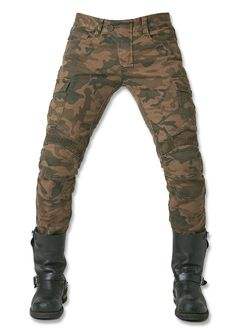 84.62$  Watch now - http://aliznm.worldwells.pw/go.php?t=32706639976 - Free Shipping 2016 UglyBROS motorpool camo ubs07 jeans camouflage leisure riding a motorcycle pants jeans MOTO GP 84.62$