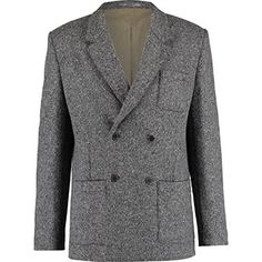 Grey Woolen Blazer