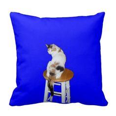 Calico Cat American MoJo Pillows