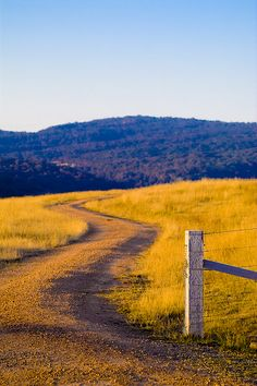 """""""Winding Country Road"""" in Victoria, Australia by Neil Creek"""