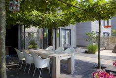 Leuke ideeen voor onze toekomstige woon-eet-relax-tuin - fris tuinontwerp.