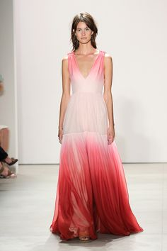 Embrace the ombre trend for your bridesmaid dresses at your wedding.
