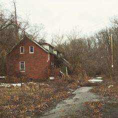 abandoned house. Pittsburgh