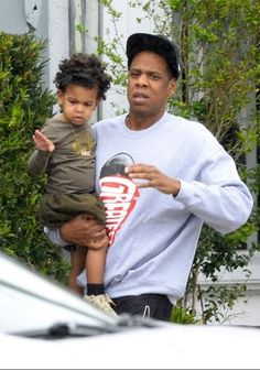 Jay Z & Baby Blue ❤️