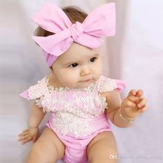2017 Baby Boutique Clothes 2017 Summer Lace Flower Ruffle Sleeve Girls Romper +Buttefly Headband Fashion Toddler Jumpsuit Baby Lace Bodysuit 7719 From Cherry_room, $64.23 | Dhgate.Com
