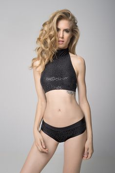 Anastasia collection - Eve top black | RAD Polewear
