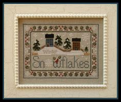 Little House Needleworks: A few of my favorite winter patterns!