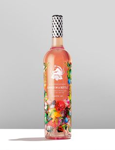 wolffer estate vineyard summer in a bottle Rose Drink, Summer In A Bottle, Wine Bottle Design, Geometric Shapes, The Hamptons, Packaging Design, Wines, Creative, Product Design