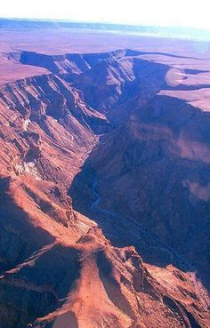 A cherished jewel of the land of diamonds Namibia, Fish River Canyon The Beautiful Country, Beautiful World, Beautiful Places, Great Places, Places To See, Places Around The World, Around The Worlds, Desert Places, Chobe National Park