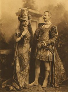 The Hon Mrs Maguire as Dido Queen of Carthage (Major Wynne-Finch with her) p239