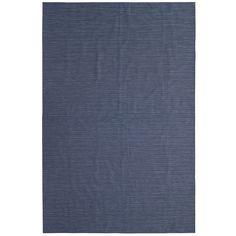 Navy Blue Vinyl Rug - Outdoor