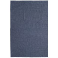 Navy Blue Vinyl Rug - Outdoor