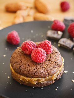 Recipe: Gluten-free chocolate peanut butter cookies with salted date filling - thisNZlife