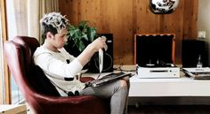 Niall Horan has it. One Direction 2014, James Horan, Niall Horan, Desk, Album, Home, Table Desk, Ad Home, Homes