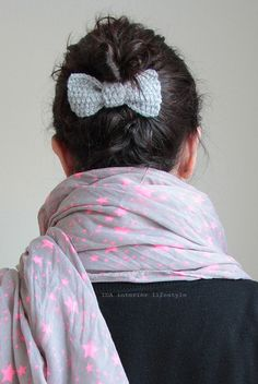 From my Etsy shop: crochet hair bows by IDA Interior LifeStyle, via Flickr