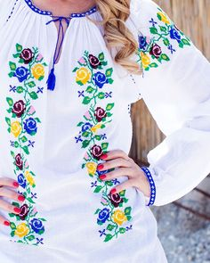 Palestinian Embroidery, Fabric Painting, Cross Stitch, Popular, Handmade, Fashion, Embroidered Blouse, Driveways, Dots