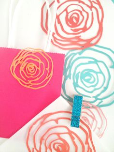 Gifting: Floral Embellishments - A Print and Cut Project