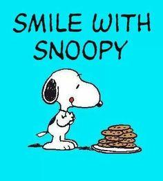 Snoopy and chocolate chip cookies!  COOKIES   COOKIES   COOKIES