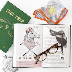 Leather Bound True Prep Book #makeyourmark