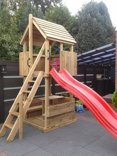 Play tower 120 with seats-Spielturm 120 mit Sitze Play tower 120 with seats - Kids Backyard Playground, Backyard Swing Sets, Backyard Playset, Backyard Swings, Backyard Playhouse, Backyard For Kids, Backyard Projects, Kids Playhouse Plans, Kids Yard