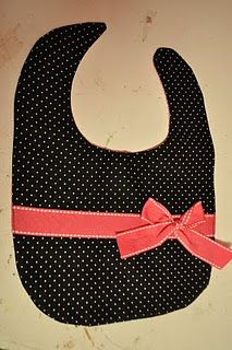 A bib idea. Need to make for my Neice