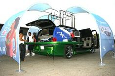 Creative Mobile Interiors, Inc. builds custom mobile marketing vehicles for any need.