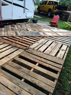 pallet deck pinterest - Google Search