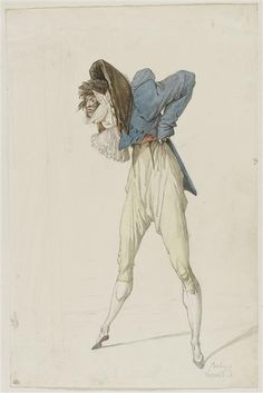 what the heck is this French Incroyable caricature circa Main Image, 18th Century Costume, Colored Pencil Techniques, 18th Century Fashion, Historical Art, Old Art, Wildlife Art, Art Drawings, Horse Drawings