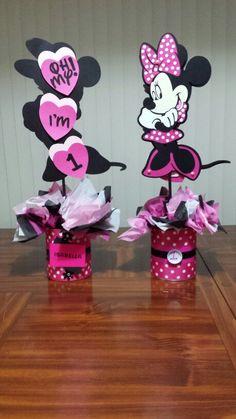 Minnie Mouse Centerpc idea