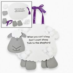 Talk To The Shepherd Lamb Craft Kit (makes 12) -- You can find out more details at the link of the image.