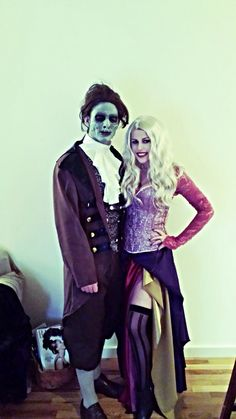 *Sarah Sanderson from Hocus Pocus* Costume I made for Halloween 2013 alongside my boyfriend who was Billy Butcherson, the Zombie from the movie too (makeup done by yours truly). ;) Such a fun couples costume idea! Turned out great and everyone recognized us! :D