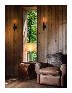 Luxury treehouse built for fun in the forest Globe Lights, Wall Lights, Building A Treehouse, Pipe Lighting, Plumbing Pipe, Black Walls, Light Fittings, Cladding, Vintage Black