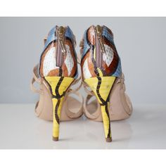 4c88b176f16f ALEXANDRE BIRMAN Exotic leathers escarpins Alexandre Birman