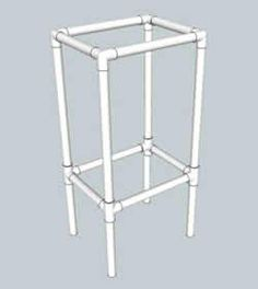 Pvc furniture on pinterest pvc pipe furniture pvc chair for Pvc furniture plans