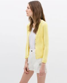Image 3 of CARDIGAN WITH DOUBLE POCKET FLAP from Zara