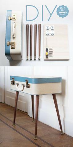 maleta mesa DIY muy ingenioso 1
