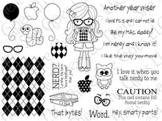 I want this stamp set.