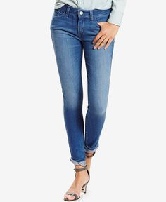 Super skinny, serious style. If you're looking for jeans that feel like leggings, this is it. Sitting just below the curve of your waist and made from soft blended fabric, Levi's 535 keeps you comfy w
