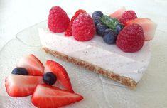 lindastuhaug - lidenskap for sunn mat og trening Frisk, No Bake Cake, Sugar Free, Cake Recipes, Cheesecake, Gluten Free, Baking, Sweet, Desserts
