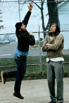 """Jack Nicholson and Will Sampson in """"One Flew Over the Cuckoo's Nest"""" Jack Nicholson - Best Actor Oscar 1975 Film D'animation, Film Serie, Film Stills, Jack Nicholson, Great Films, Good Movies, Awesome Movies, Movies Showing, Movies And Tv Shows"""