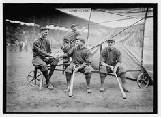 [Hank Gowdy, Lefty Tyler, Joey Connolly, Boston NL (baseball)] (LOC) by The Library of Congress, via Flickr