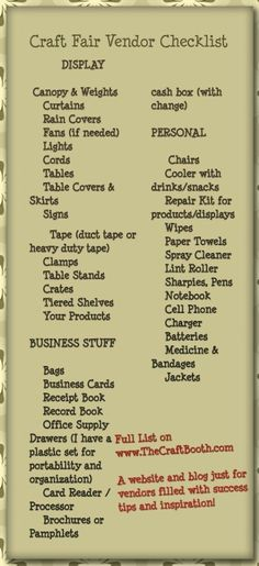 Craft Fair Vendor Sales Tips and Booth Ideas - - Get the inside scoop on all the little known tricks of the trade for increasing sales and building repeat business. How to design and work a booth that rocks! Craft Show Displays, Craft Show Booths, Vendor Displays, Market Displays, Craft Show Ideas, Display Ideas, Jewelry Displays, Craft Fair Ideas To Sell, Necklace Display